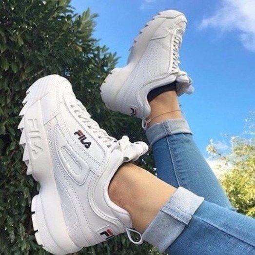 Fila, pretty, and sneakers image