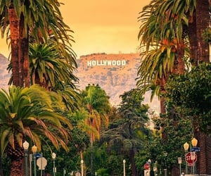 adore, city, and hollywood image