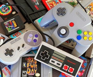 nintendo, gaming, and videogames image