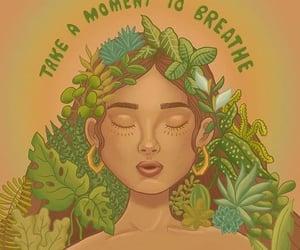 breathe, inspirational, and meditation image