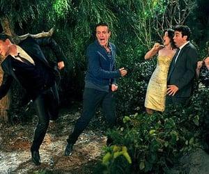 Barney Stinson, lily aldrin, and robin scherbatsky image