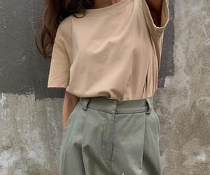 summer, casual, and solid color image