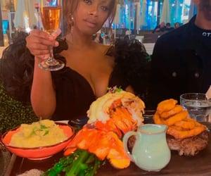 aesthetic, dinner, and brunch image
