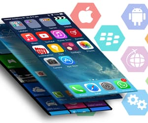 mobile app development and mobile app image
