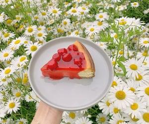 breakfast, cake, and fruit image