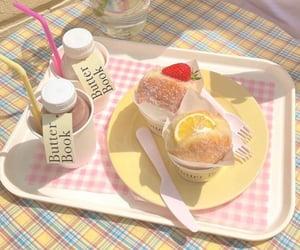 background, desserts, and lemons image