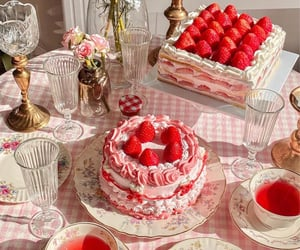 background, desserts, and food image