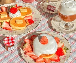 aesthetic, background, and desserts image