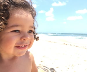 baby, inspiration, and ocean image