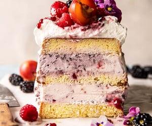 berries, cake, and dessert image