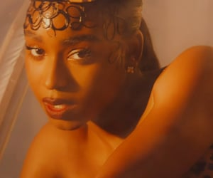 music video, beauty, and normani image