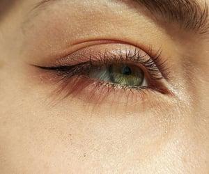 eye, eyelid, and eyes image