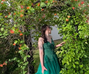 flowers, garden, and prom pictures image