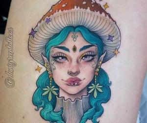 beautiful tattoo, fairy, and tattoo image
