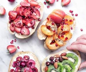 food, fruits basket, and food love image