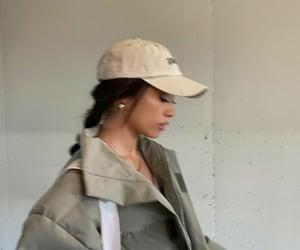 cap, coat, and cool image