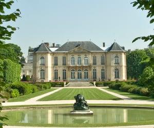 art, palace, and rodin image
