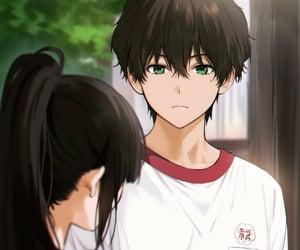 anime, anime boy, and hyouka image