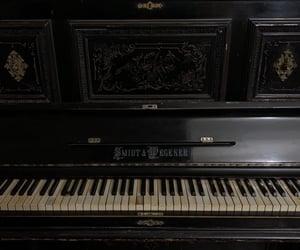 dark academia and piano image