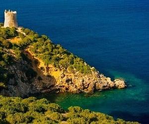 italy, Sardinia, and windsurfing image