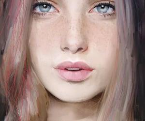 arte, dibujo, and belleza image