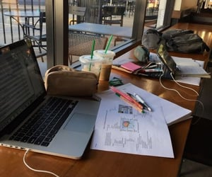cafe, college, and notes image