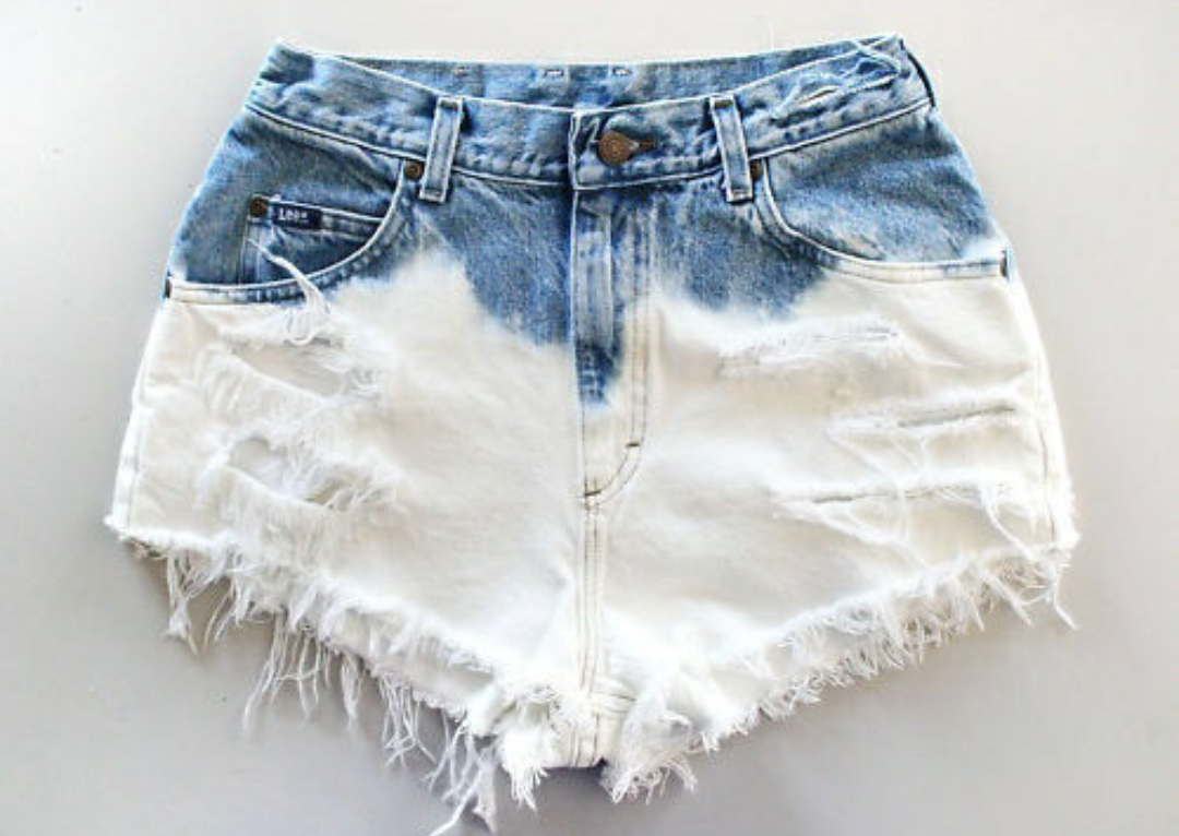 blue jeans, fashion, and shorts image