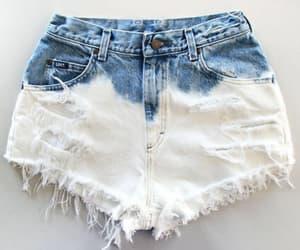 blue jeans, denim shorts, and fashion image