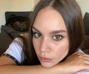 actress, eyes, and girl image