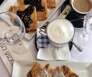 cafe, crepes, and drink image