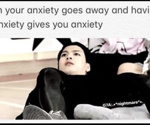 anxiety, kpop, and mental image