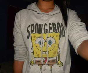 girl, spongebob, and bob esponja image