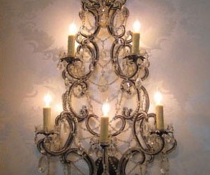 chandelier and decor image