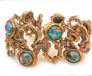 Ceramic, etsy, and wide bracelet image