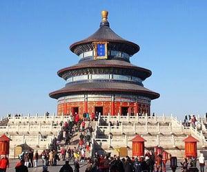 beijing, parkland, and china image