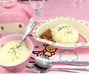cream, soft, and comida image