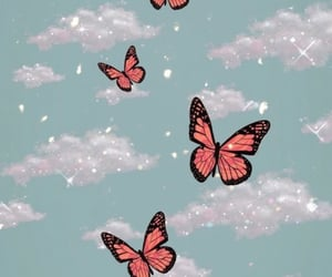 butterfly, iphone wallpaper, and pretty image