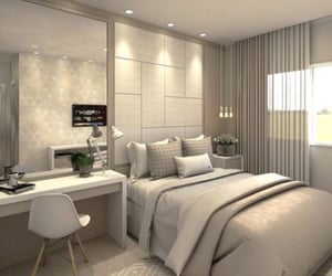 bedroom, dream place, and luxury image
