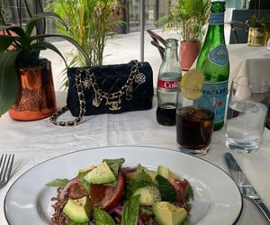 aesthetic, avocado, and lunch image
