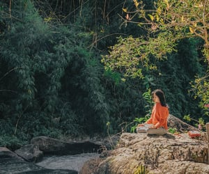 mindfulness meditation and morning meditation image