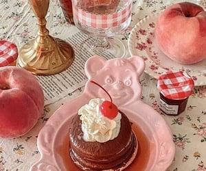 bear, breakfast, and cherry image