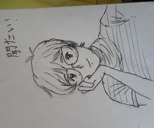art, drawing, and 漫画 image