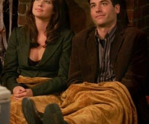 how i met your mother, ted and robin, and robin scherbatsky image