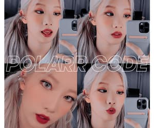 kpop, loona, and polarr image