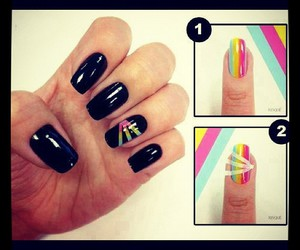 nails, cute, and fingers image