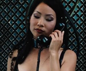 hot girls, lucy liu, and red lipstick image