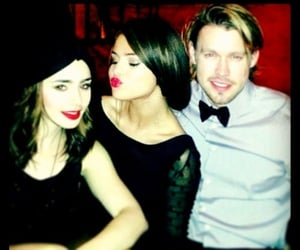 les miserables, selena gomez, and chord overstreet image