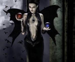 dark, emo, and Halloween image