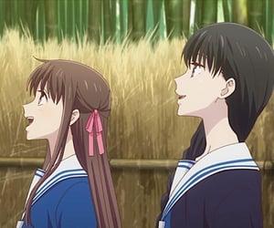 anime, fruits basket, and tohru honda image
