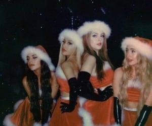 ariana grande, christmas, and thank u next image